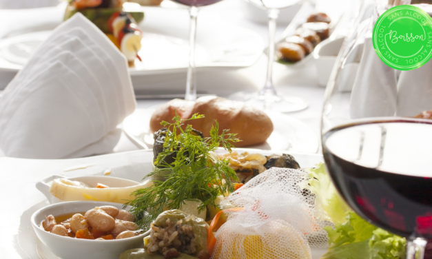 Les accords mets/boisson sans alcool au goût du vin